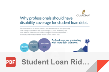 Student Loan Rider Infographic