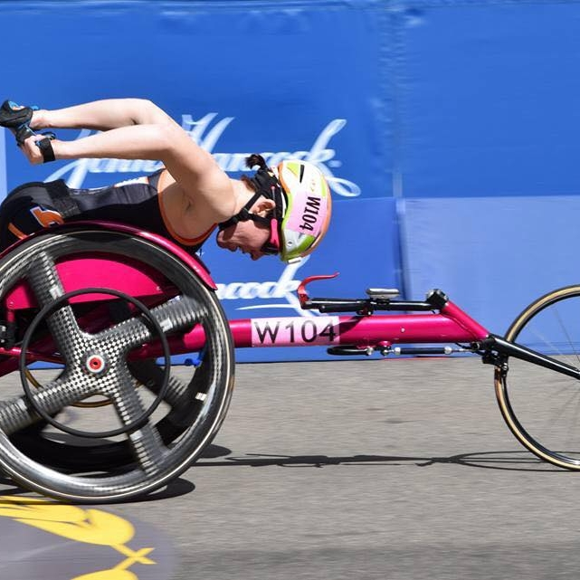 Boston Marathon - 1. Manuela Schar (1:28:17)2. Amanda McGrory (1:33:13)3. Susannah Scaroni (1:33:17)OFFICIAL RESULTS PAGE