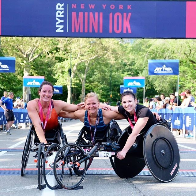 Really happy with today's podium finish at the @nyrr #Mini10K and thankful to share the day with a great group of women - about 8,000 of them, in fact. 🏃🏻‍♀️💪🏻 Now it's back to rest and recovery and getting myself off the injured list...see you guys in the fall! 🍂🍁
