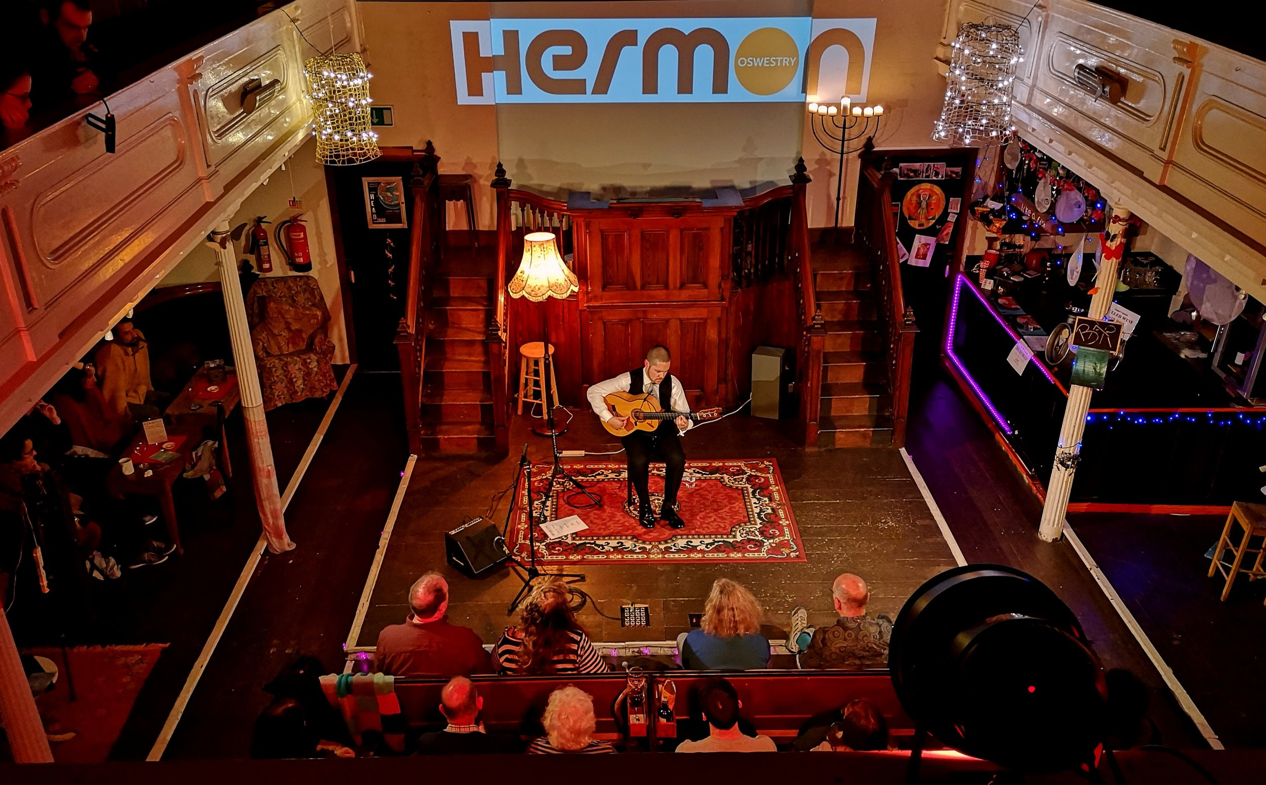 Samuel performing live on Oct 21st in Herman Chapel Arts Centre (Oswestry)