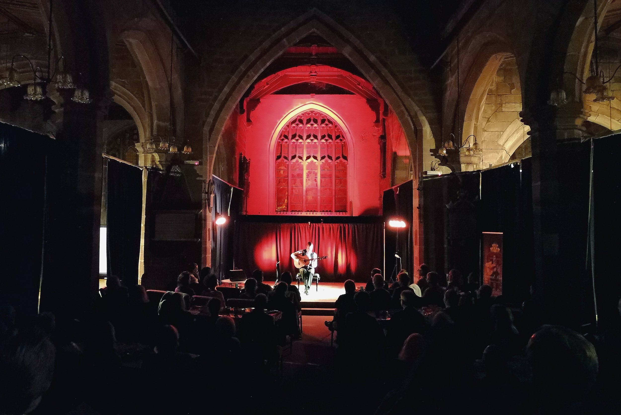 Samuel Moore live on Oct 20th in St Mary's Creative Space (Chester)