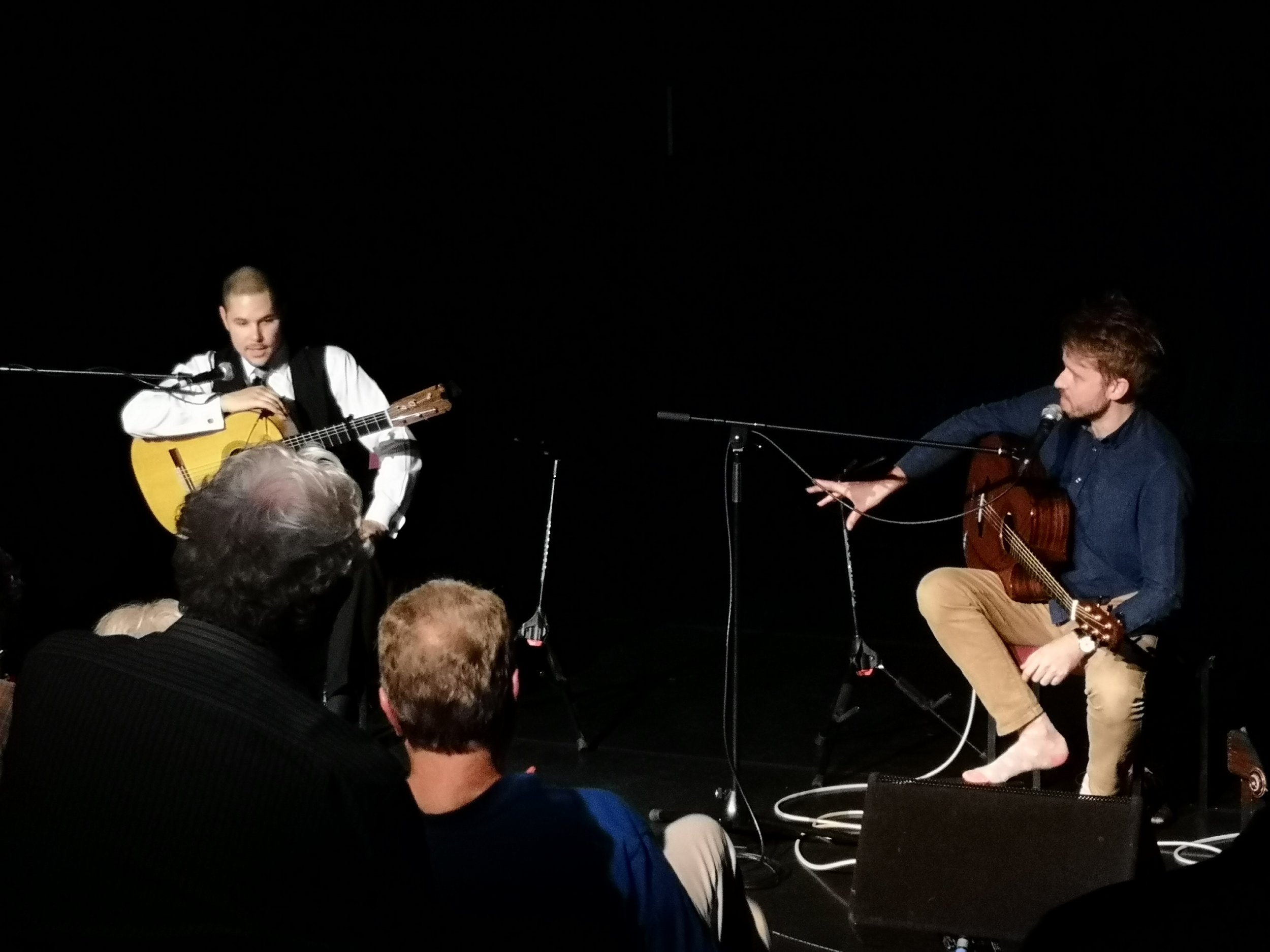 Samuel Moore performing with Will McNicol on Oct 10th in The Forest Arts Centre (New Milton)