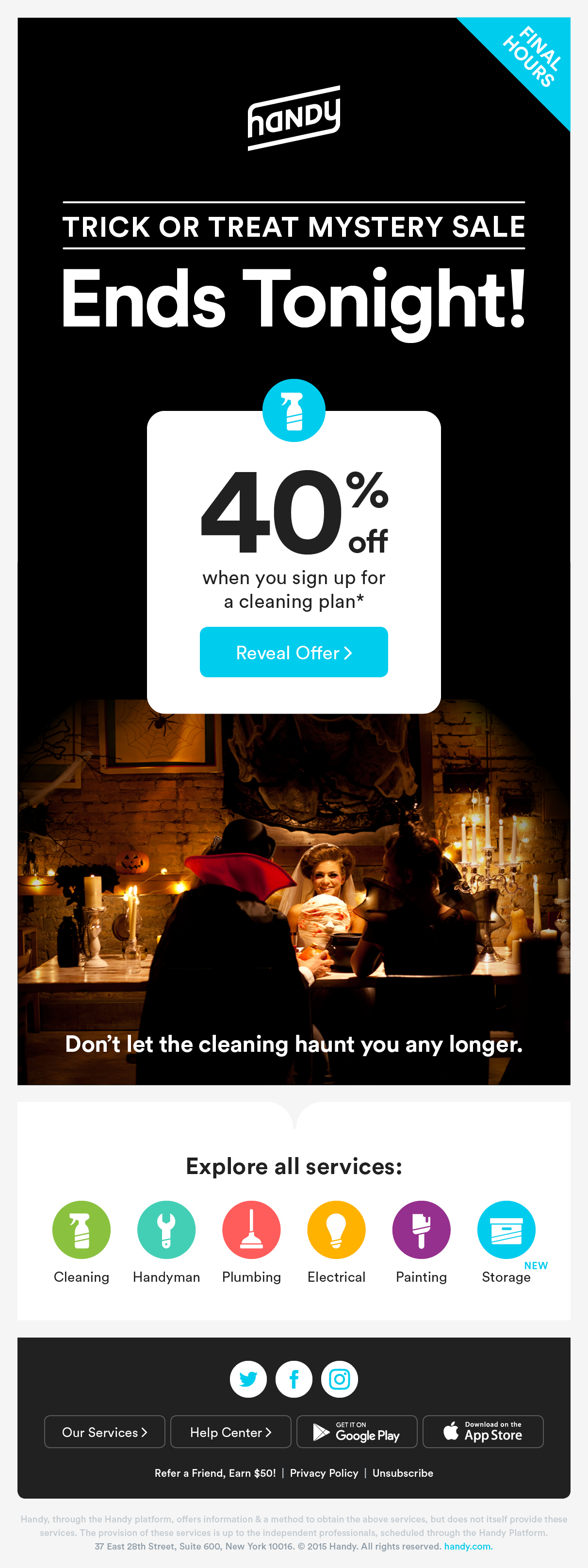 Email Marketing for Handy