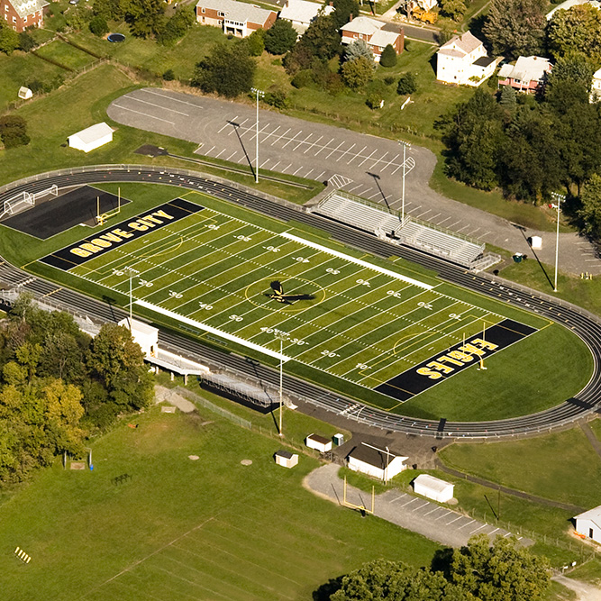 Forker Field  Grove City Area School District   Education / Athletic