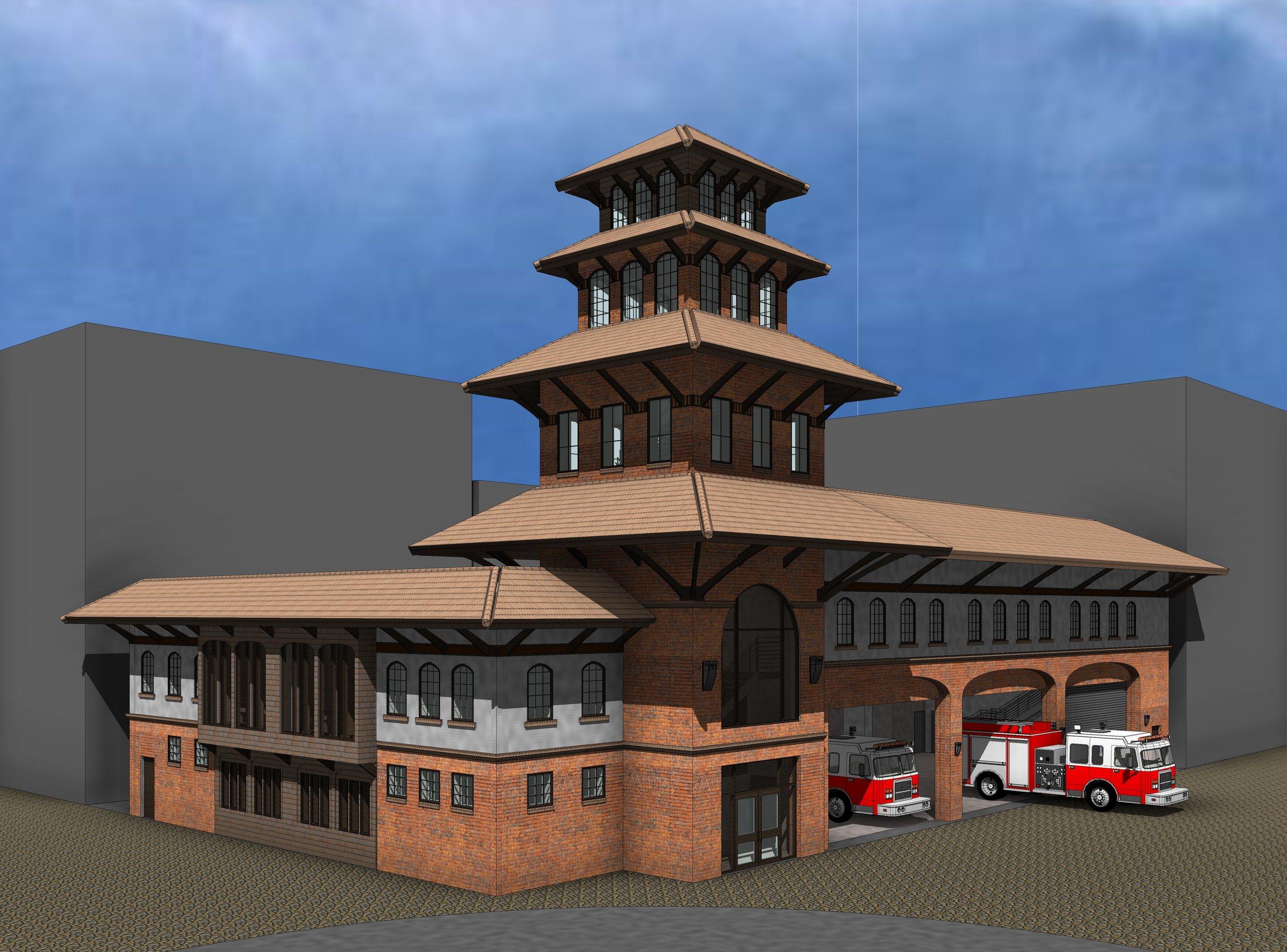 Kathmandu Fire Station