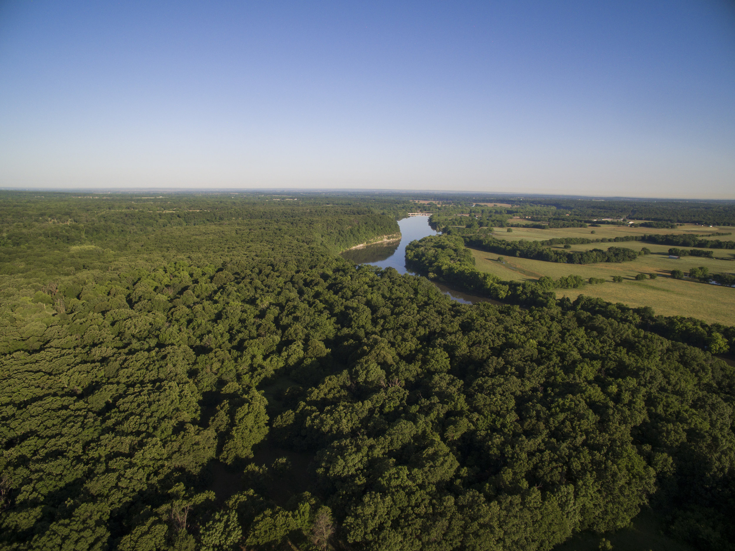 Flying J Ranch Aerial Photograph