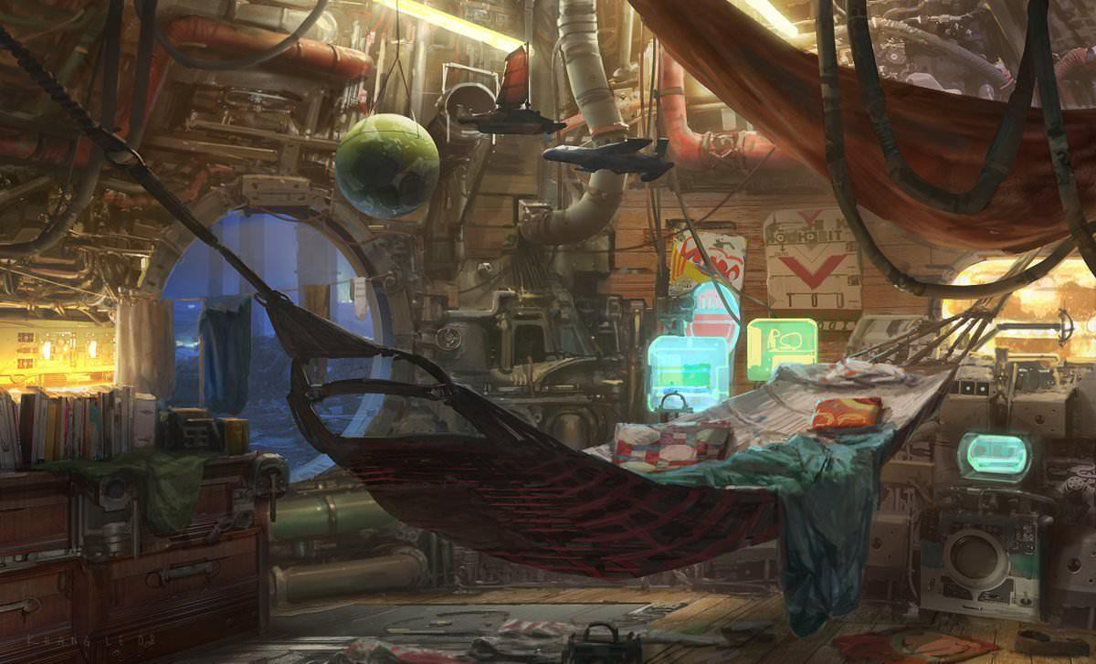 scifiseries :   Cozy Cyberpunk
