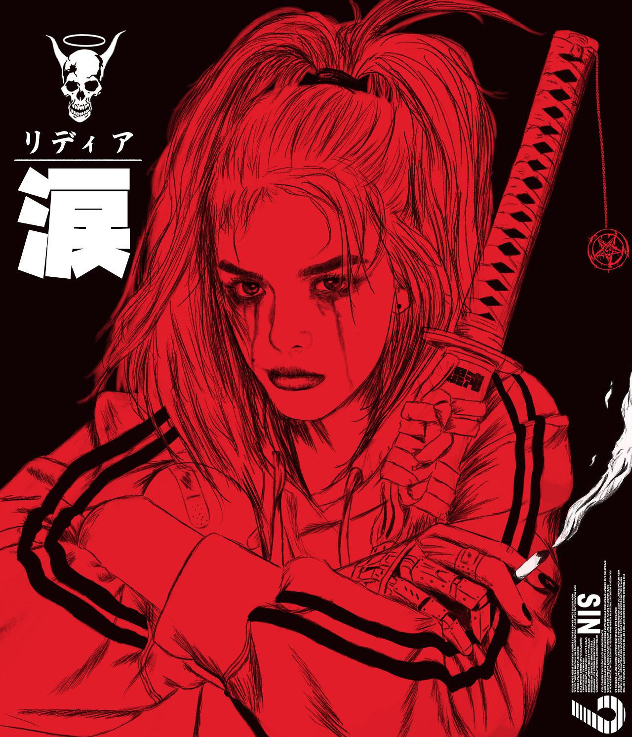 nishio-art :    Red     https://www.instagram.com/nishio__/