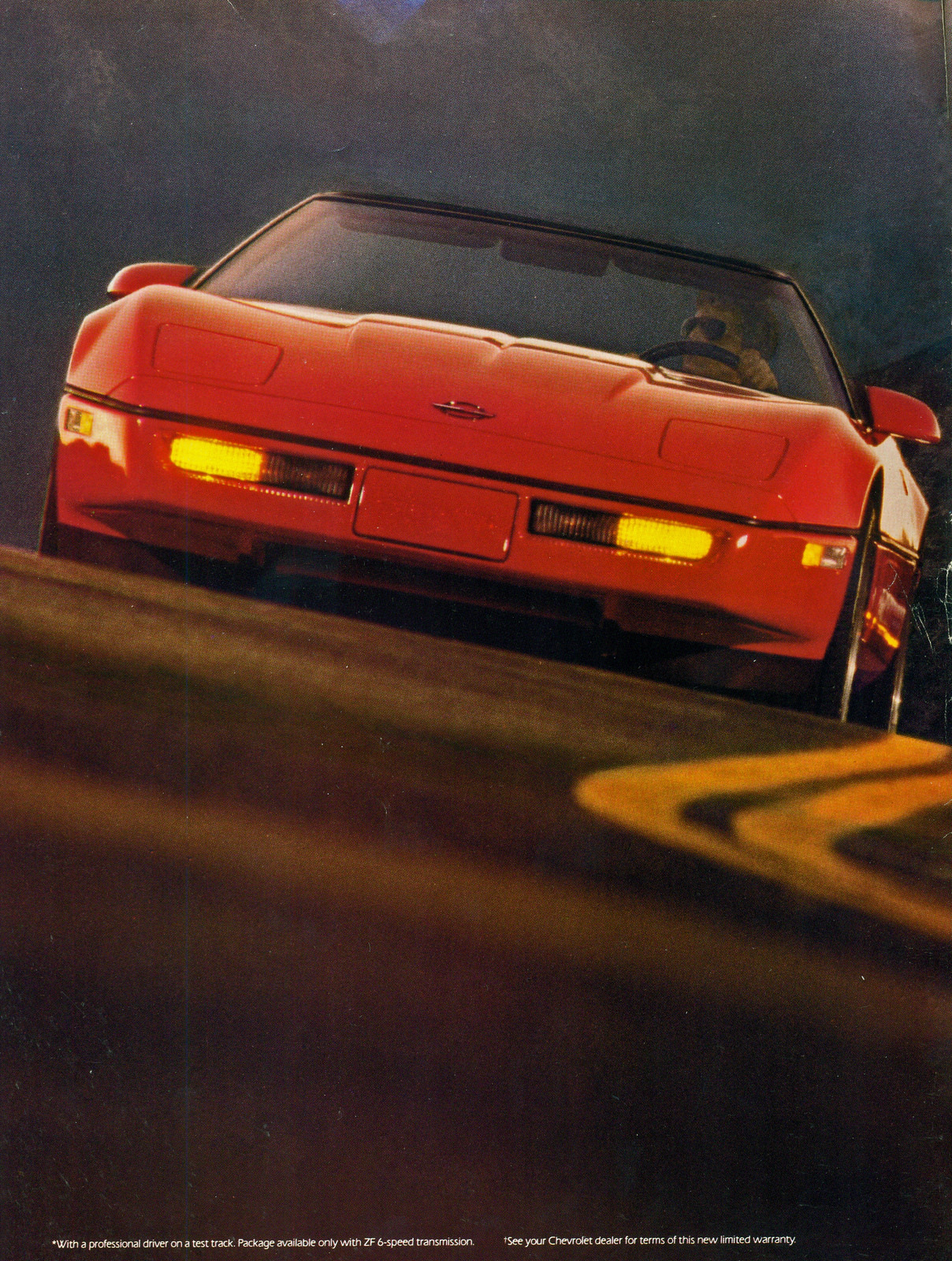 nerddecarro :     Chevrolet Corvette 1988