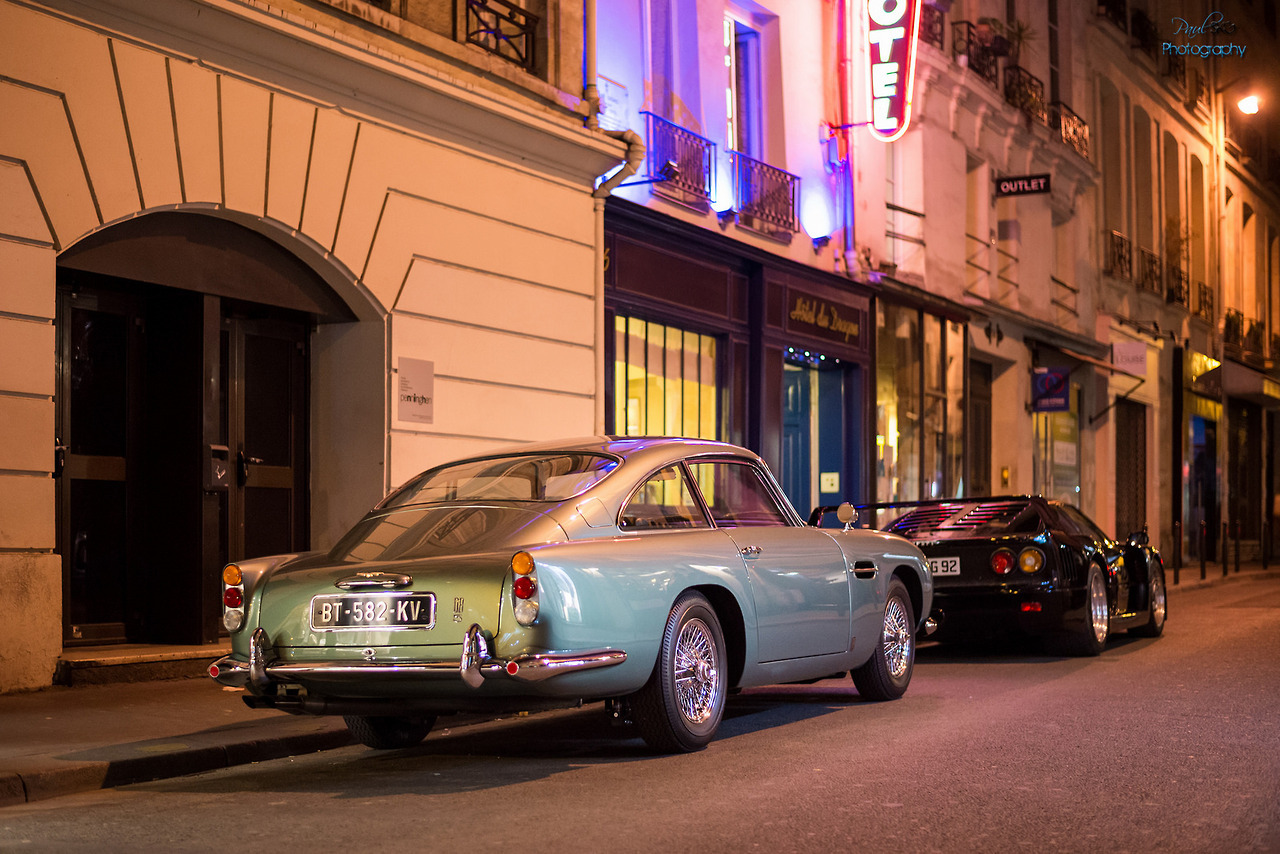 carpr0n :       Starring: Aston Martin DB5  By Paul SKG