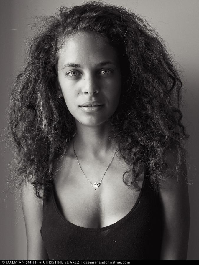 daemianandchristine :     5 Minute Portrait of Estelle Firgenti (Fusion) by Daemian Smith + Christine Suarez