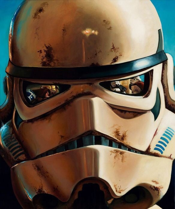 alienspaceshipcentral :      hucar81 :     Sand Trooper     From one science fiction lover to another….