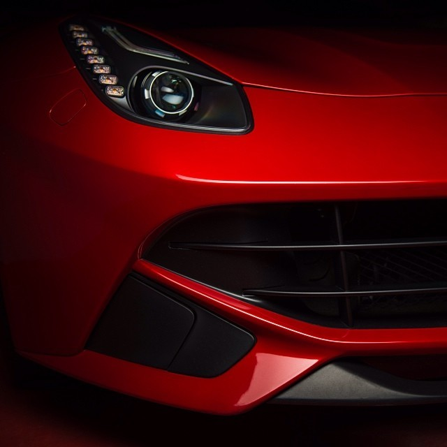 A little red teaser of a sweet upcoming photo set. Keep your eyes open. #ferrari #f12 #instacars #outofthedark #carphotography  (at tm's icedsoul photography)