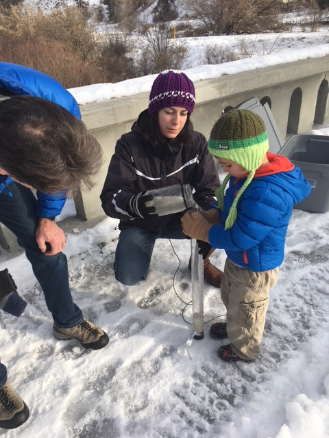 Citizen scientists of all ages help with the study.