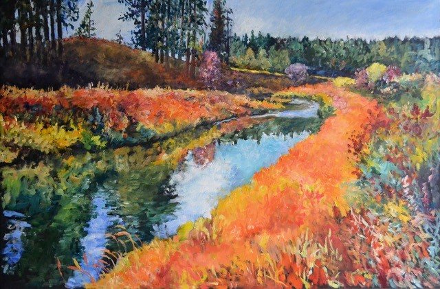 Latah Creek by Hangman Golf Course