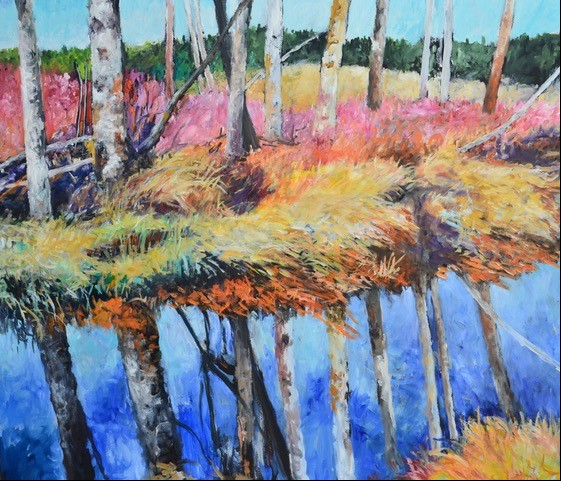 Birch Reflections at Slavin
