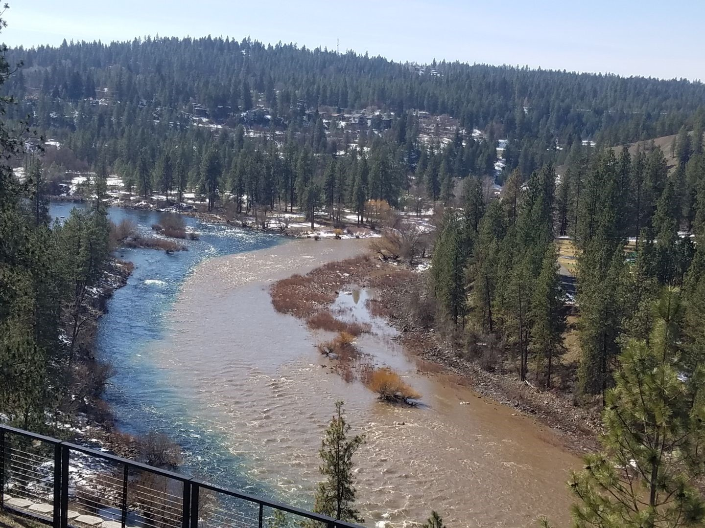 Hangman Creek pollutes the Spokane River with tons of sediment each day in the spring, choking sensitive native redband trout and burying their nests.