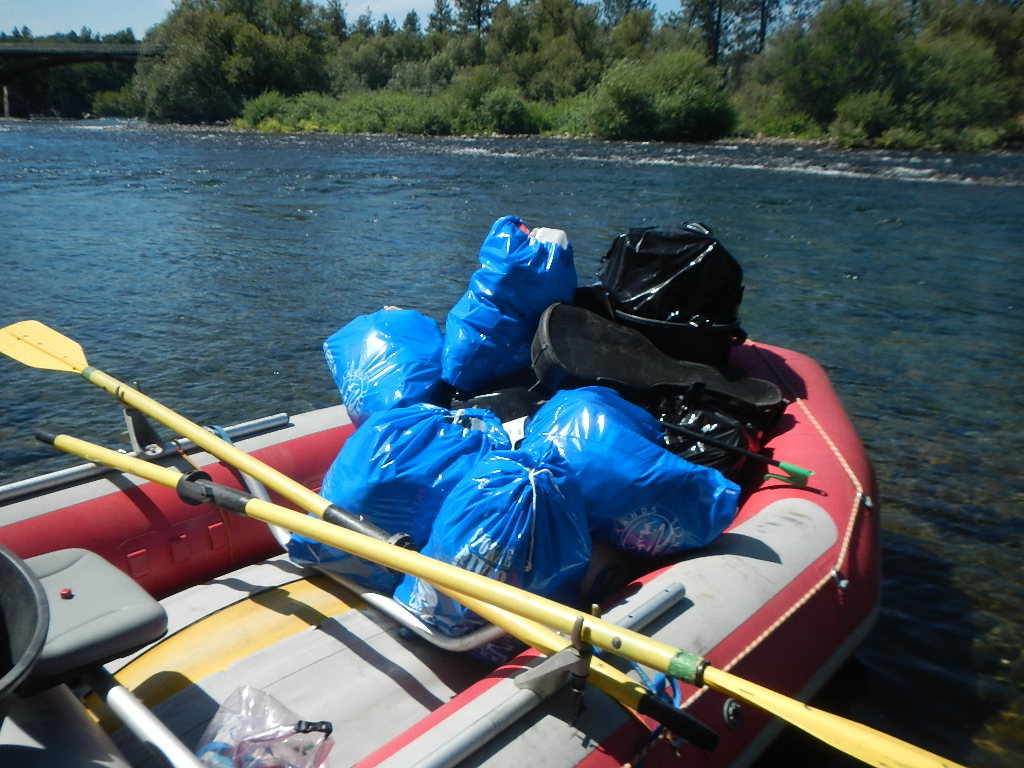 Our friends at Wiley Waters helped us out one day.  Luckily they brought their 16 foot raft.