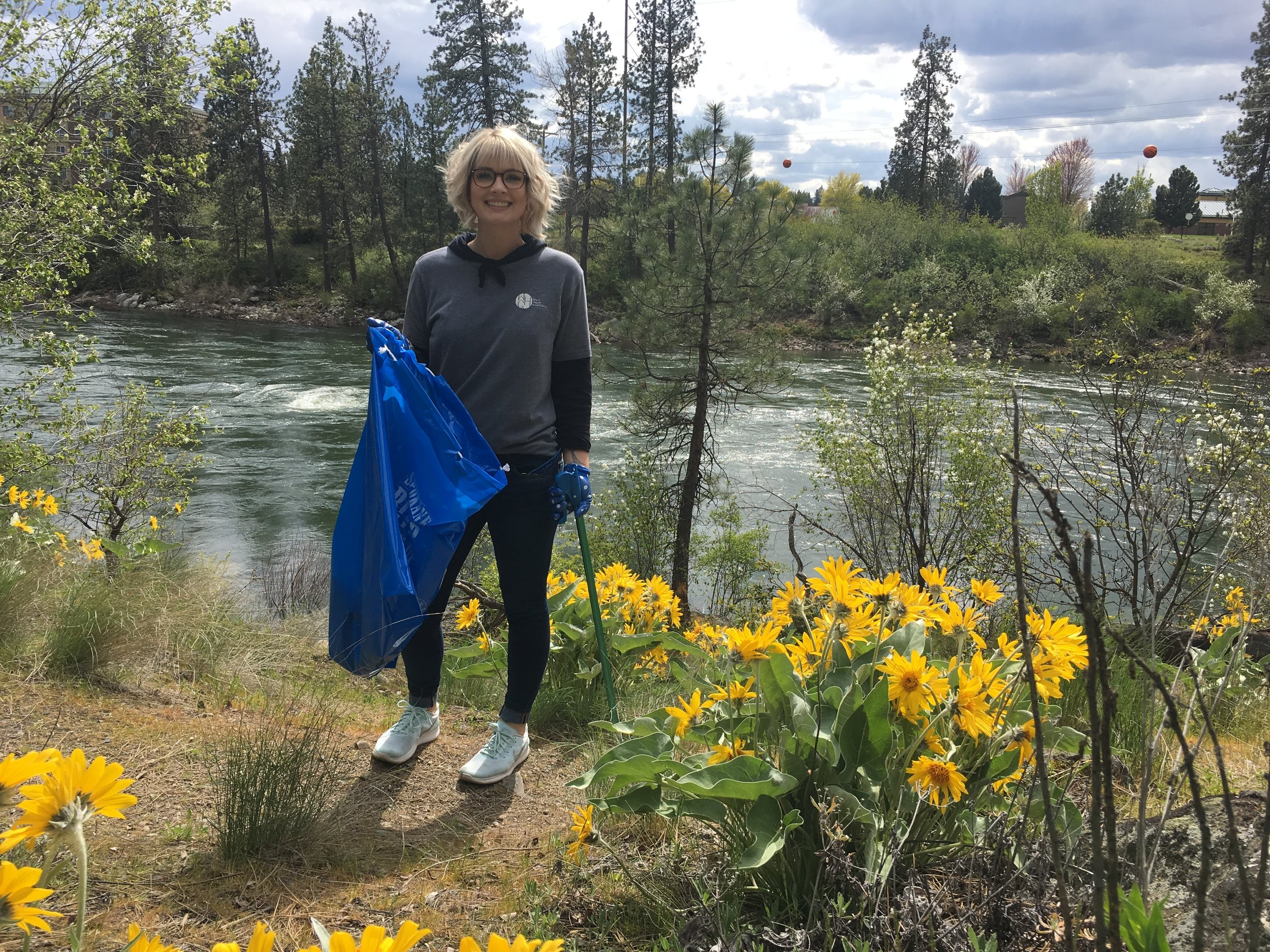 River cleanups are a great way to enjoy the beauty of the outdoors while also doing something for the river.