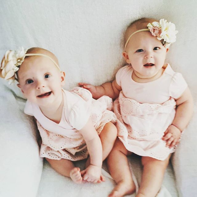 And just like that, my little ladies are 6 months old! How can it be? * I never would have guessed the healing journey of body, mind, and spirit would take so long for me to have them, but every symptoms, fear, appointment, decision, and tear were supposed to happen to bring me to myself and to them. They were waiting to be born at just the right time in just the right way. That makes them pretty perfect ♥️ * At the end of a long journey can sometimes be the sweetest reward. * #gratefulheart #newmom #postpartum #twinmom #motherhoodjourney #healthyliving #careerchange #healingjourney #babyblessings #motherhood #fraternaltwins #twinsofinstagram #twinmomlife #twinsisters #twinning #family #motherhoodunplugged #momofmultiples