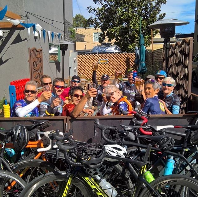 The BBC crew after our Friday Fun ride for race volunteers. - #bikes #cycling #berkeley #volunteer #racing #bicycles