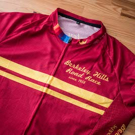 FRONT - BHRR winner's jersey.