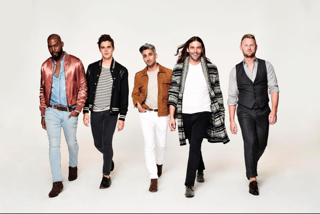 The Fab Five. If you haven't watched Queer eye yet, I highly recommend you treat yo self with a binge watch!