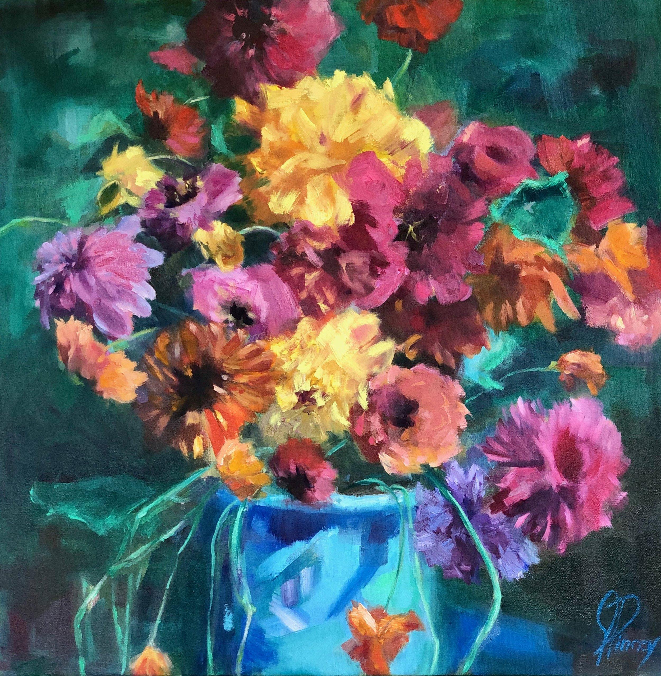 Blue Vase 24X24 oil on canvas $900 copy.jpeg
