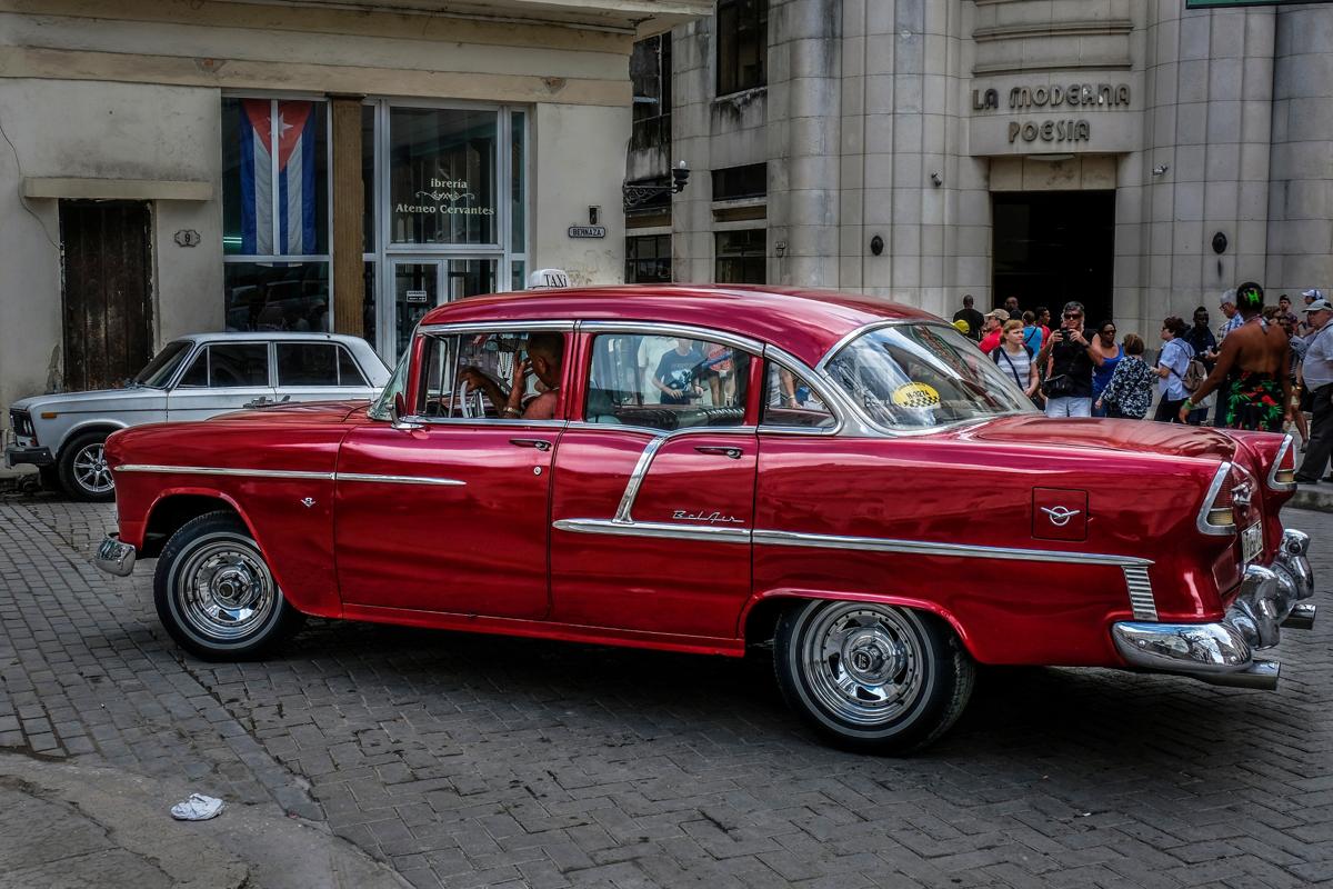 Chevy Bel Aire Cuba