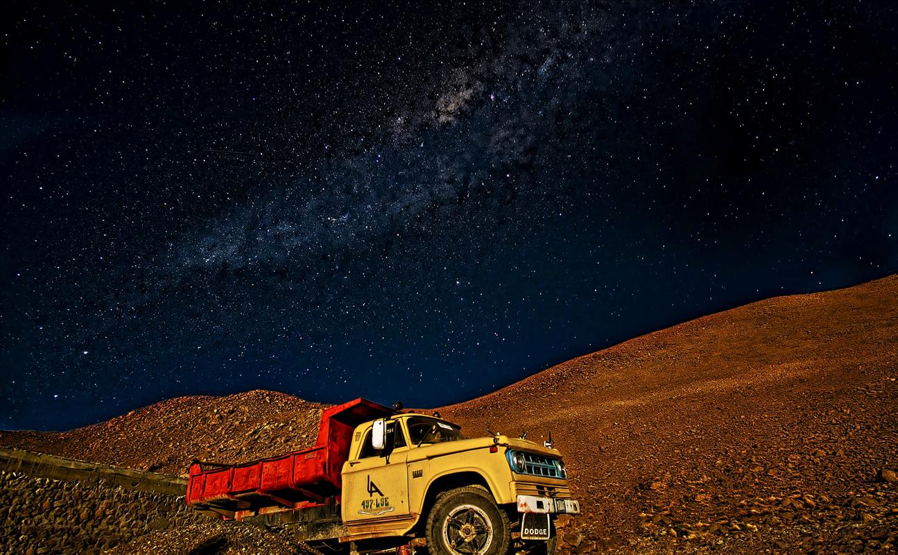 Milky way Bolivia