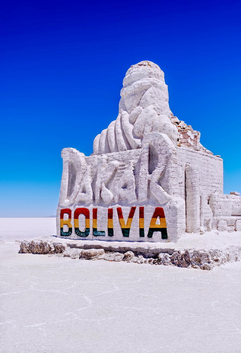 Salt Monument Bolivia