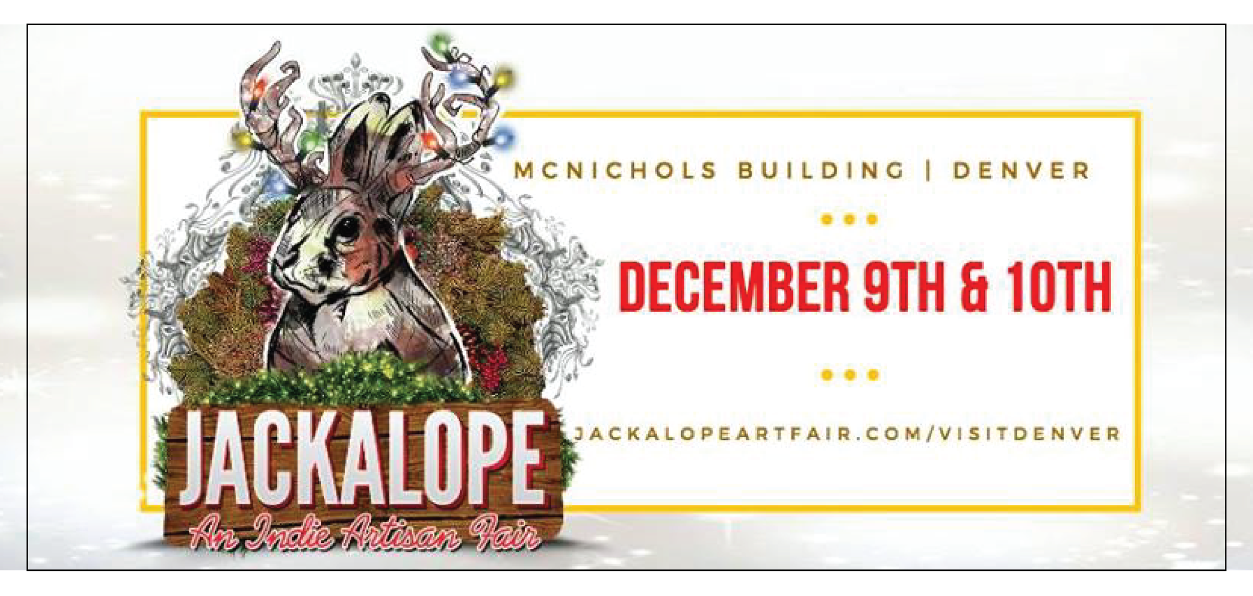Join me at the Jackalope Indie Artisan Fair on December 9th & 10th at the McNichols Building at Civic Center Park in Denver. The building will be packed with one-of-a-kind items from one-of-a-kind artisans! Come early to pick up one of my Wraps, Cocoons or Shrugs before they all sell out again!