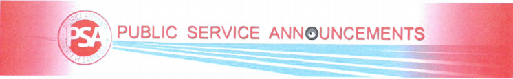 Santa Clara County Public Service Announcement