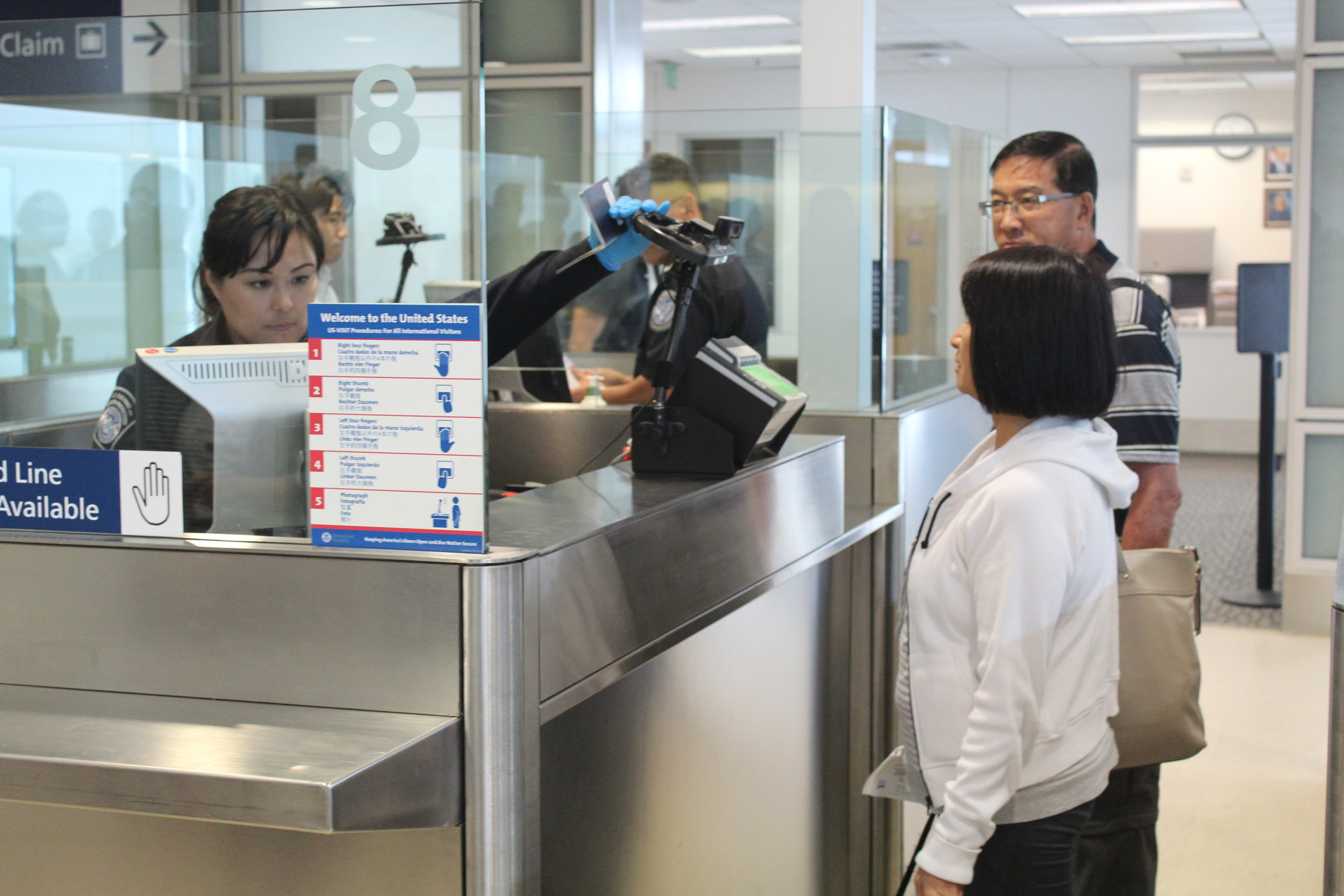 Mineta San Jose International Airport Biometric Scanners
