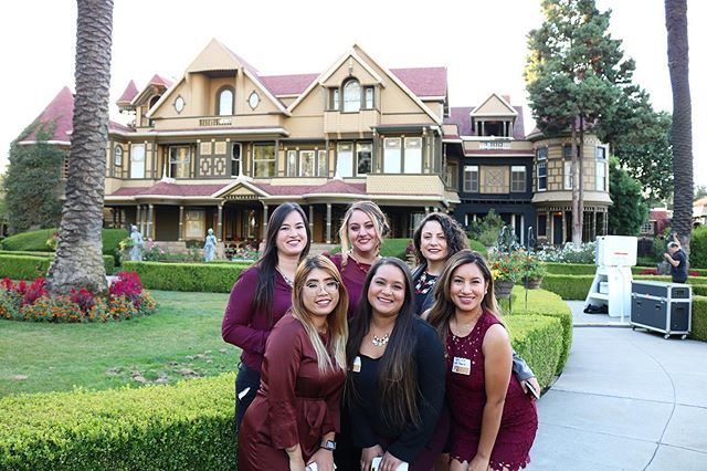 Ghostly greetings from the Winchester Mystery House!  👻🎃   Thank you for hosting our networking mixer last night, all our guests really enjoyed the mini night tour of the mansion!  The night wouldn't be complete without the delicious food provided by @homesteadsantaclara 😋 Thank you for being there!  And of course, the one and only @tapsnap1050 for always providing their fun and interactive photo booth! 📸😁  #networking #winchestermysteryhouse #thesvo #sanjose #siliconvalley #mixer #svo