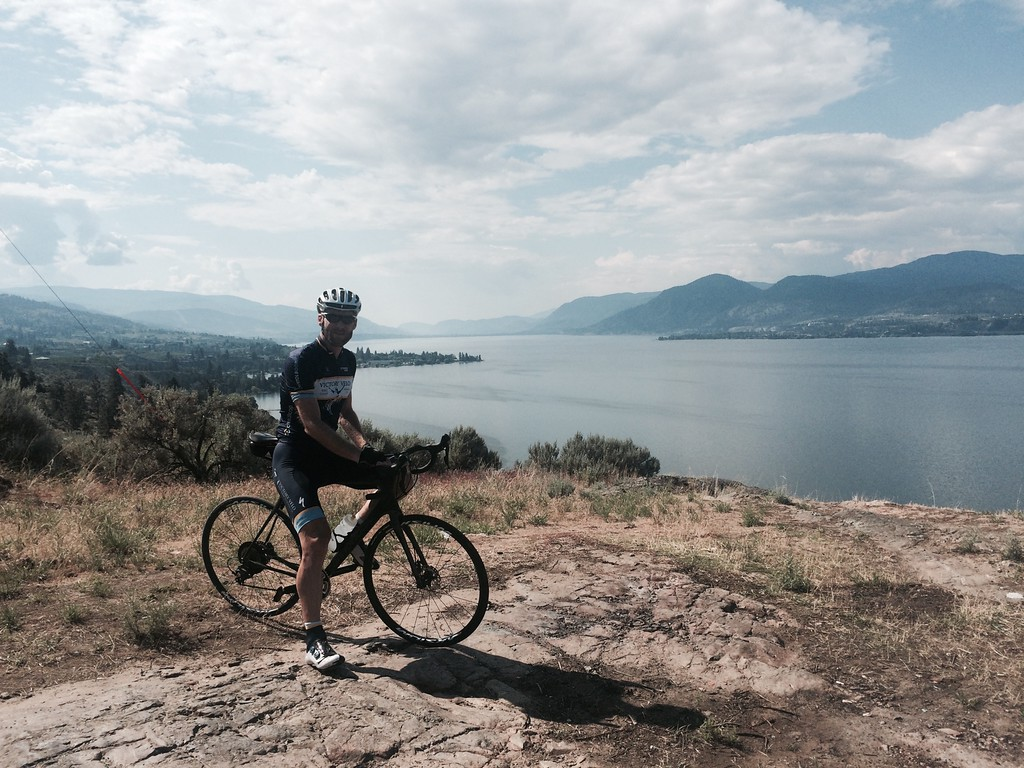 Spectacular views are found all along the Naramata Bench