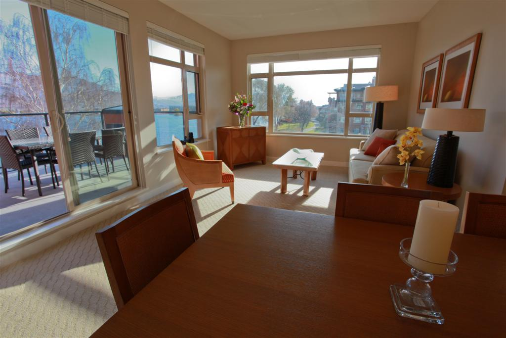Front sitting area of One Bedroom Suite