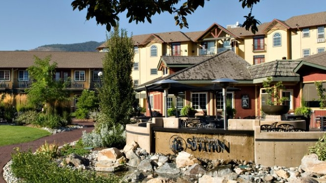 The Ramada is perfectly located in Penticton