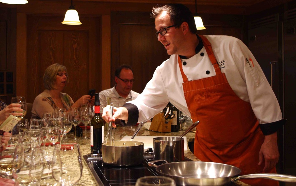 A Private Chef's Culinary Experience..