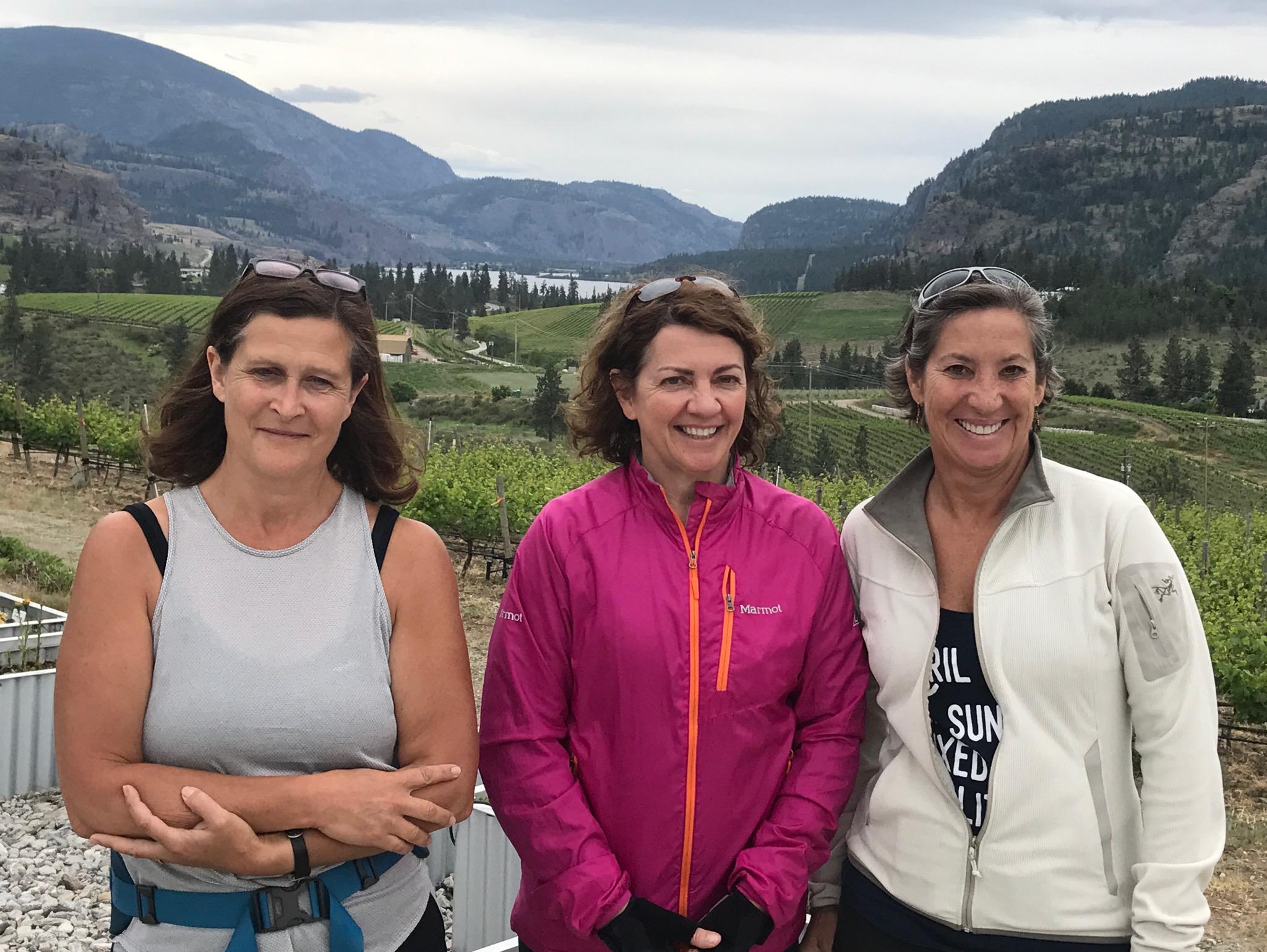 Visit the wineries of Okanagan Falls