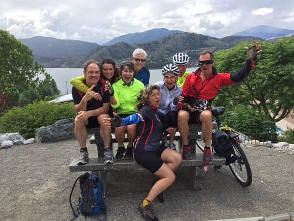 Every Great Ride needs a Great Destination   THE WINERIES OF SKAHA LAKE