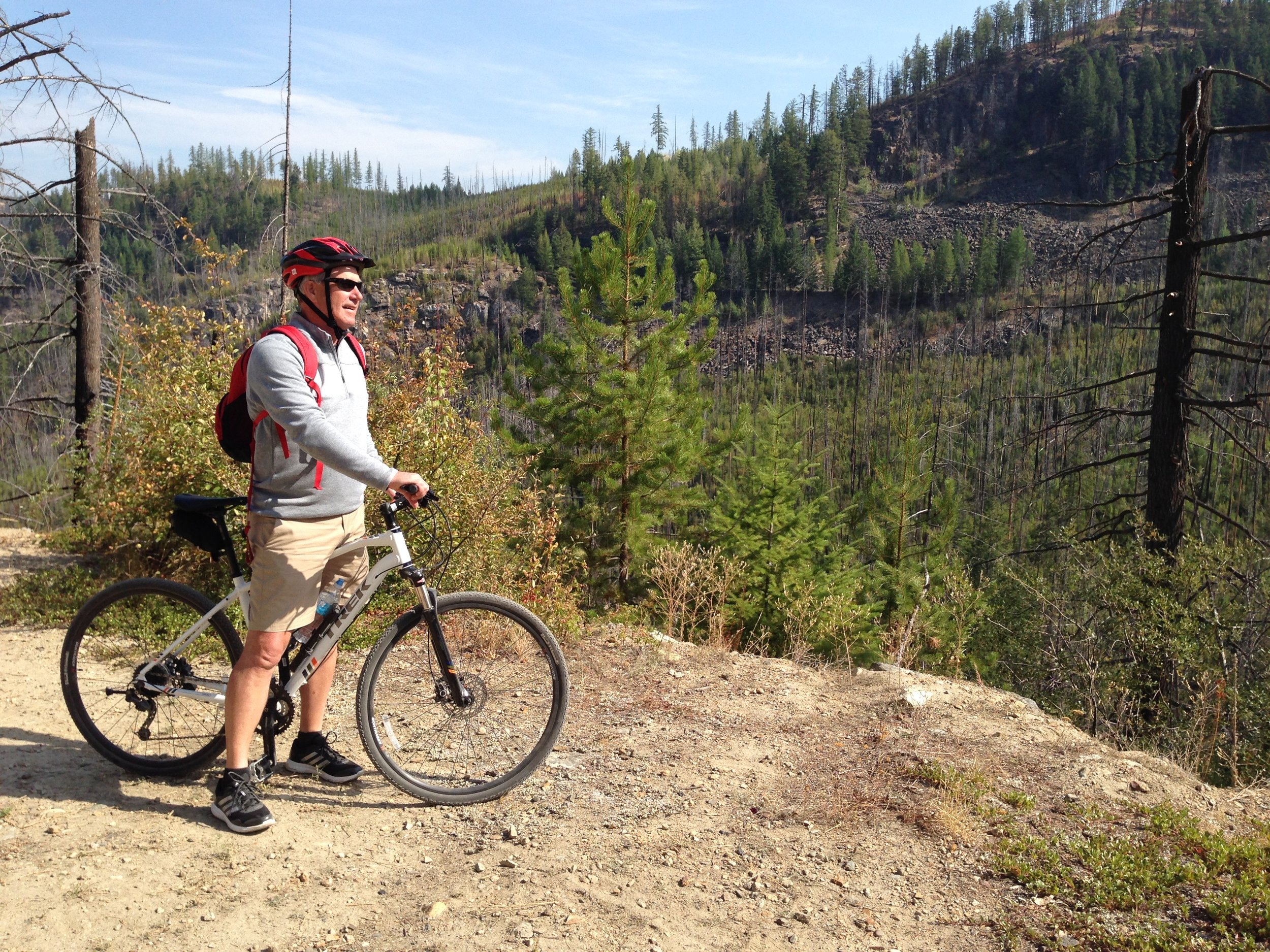 Ride the Trestles and Tunnels of   Myra Canyon    Learn More