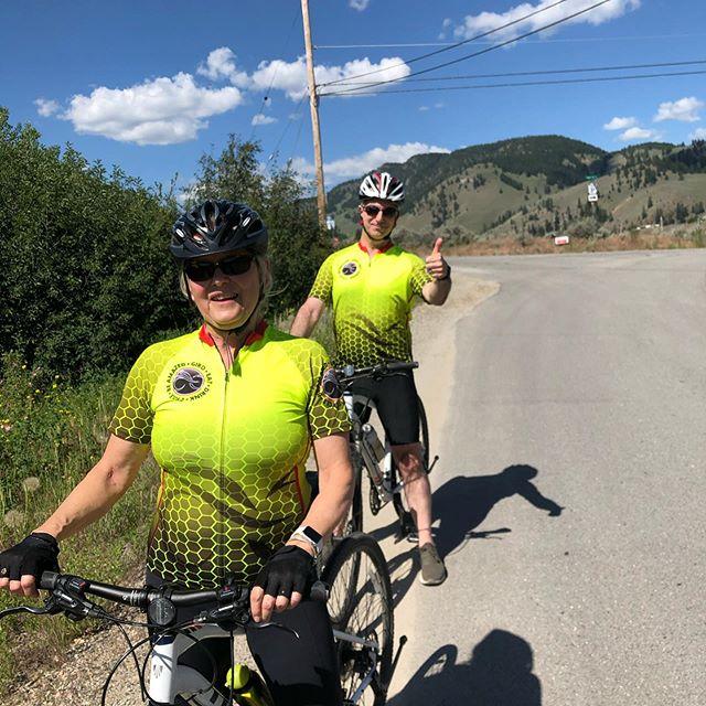 Two new Giro Heros exploring the #southokanagan with us! It was 3 great days of riding. #cyclebc #okanaganexploring