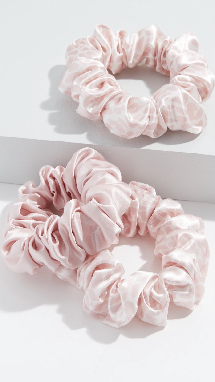 Slipsilk Classic Large Scrunchie Set of 3 $39
