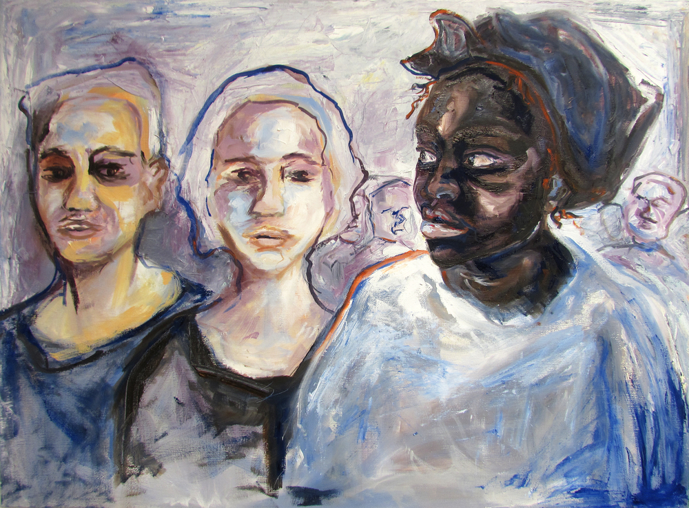 Being Seen | oil on canvas | 42 x 30 inches | 2015