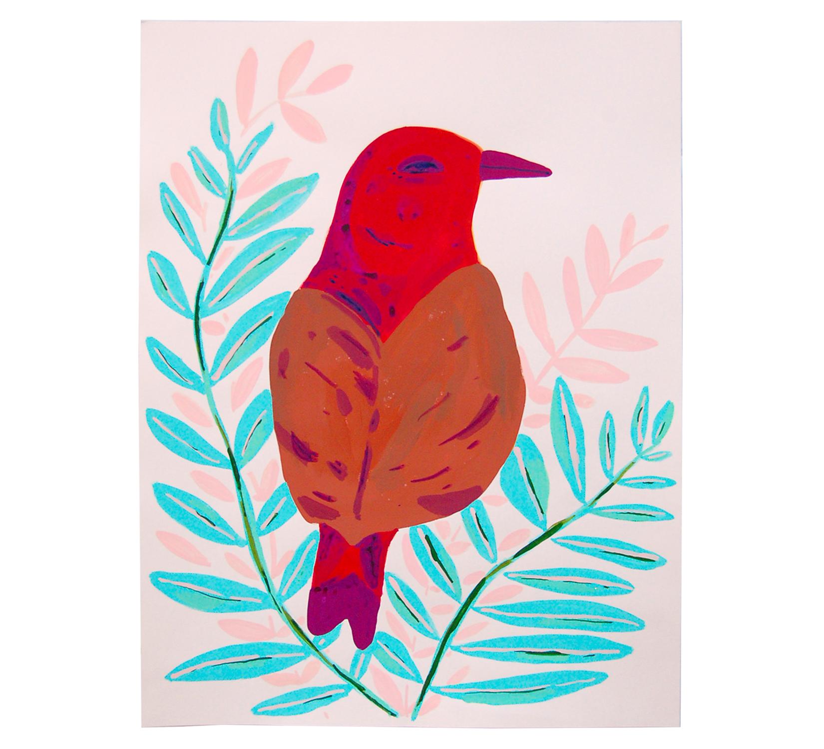 Copy of Red/Brown Bird