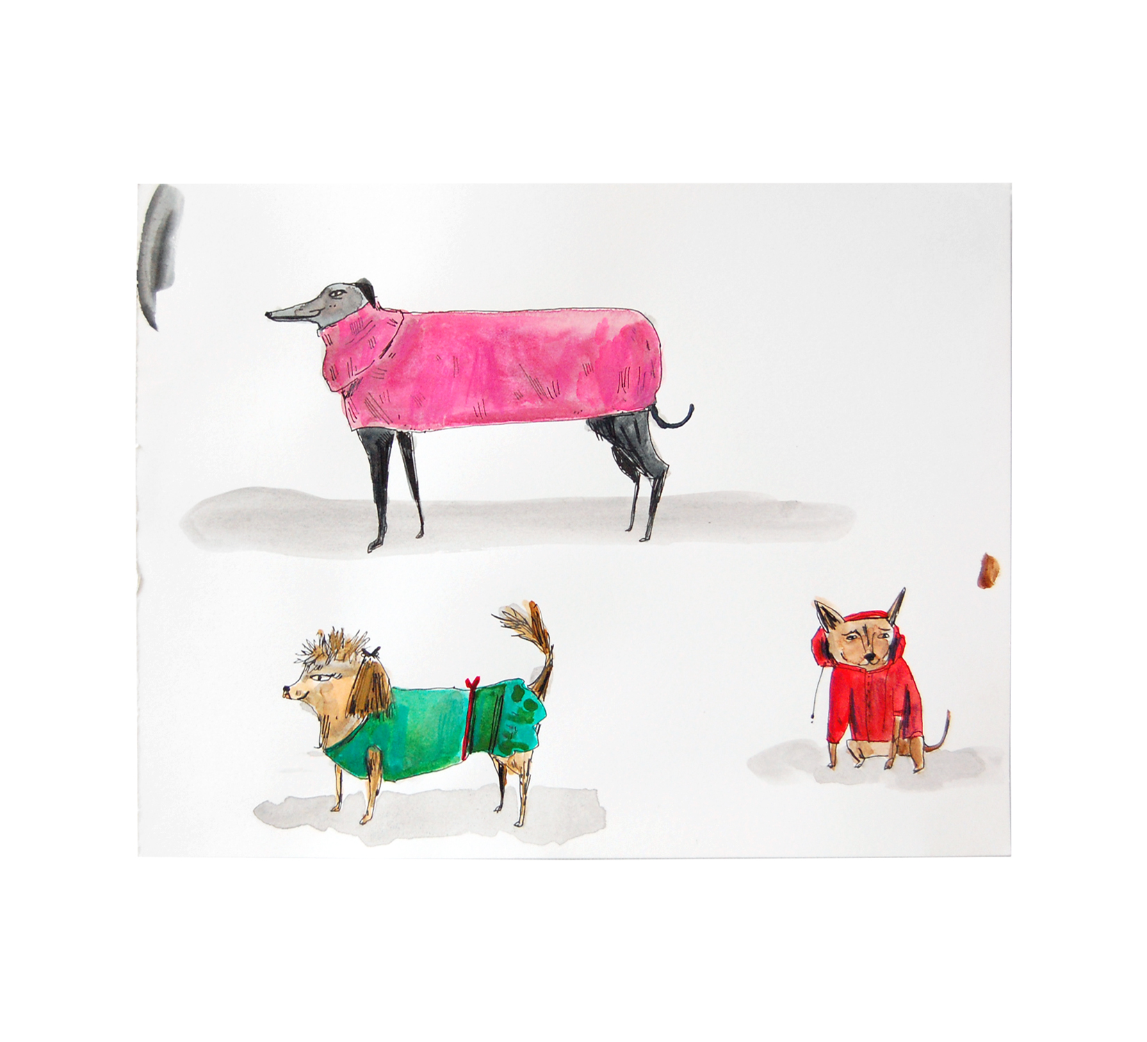 Dressed Up Dogs I