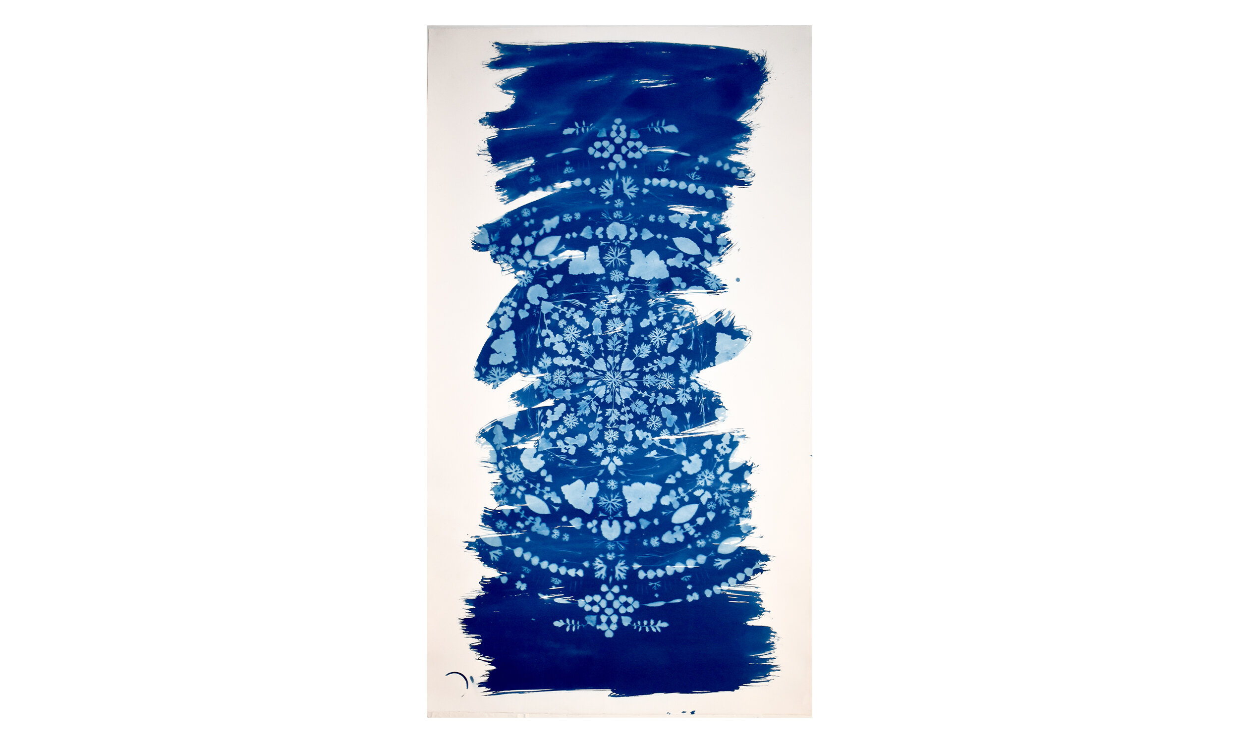 Mandala,  cyanotype on paper, unframed, $3,200    Contact us for purchase