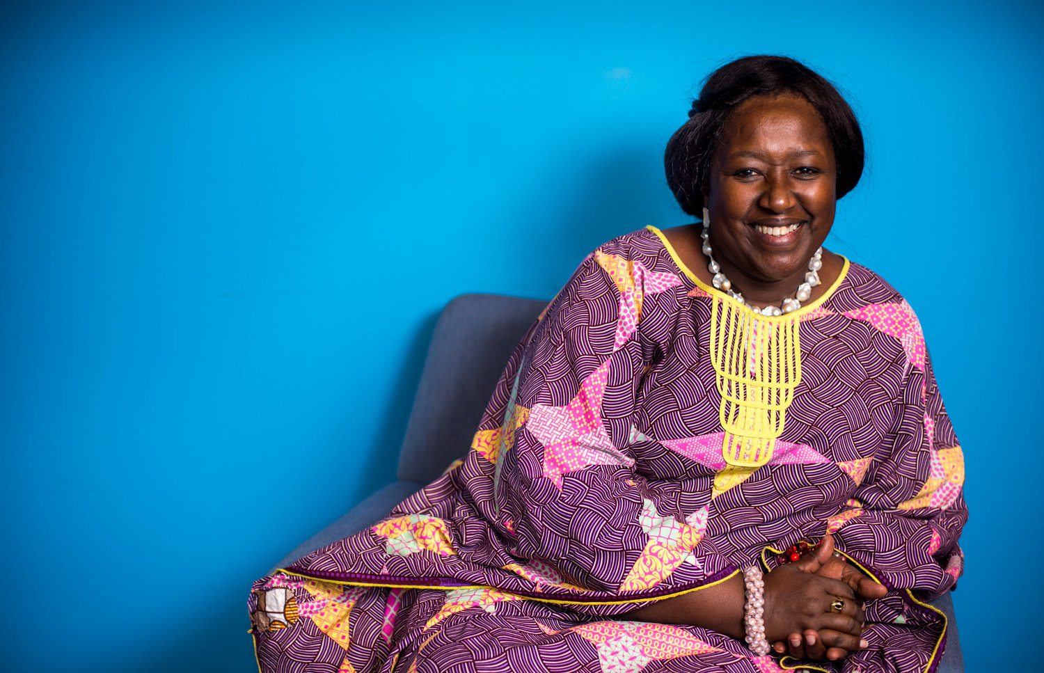 Dr. Agnes Binagwaho, pediatrician and Rwandan Minister of Health from 2011-2016