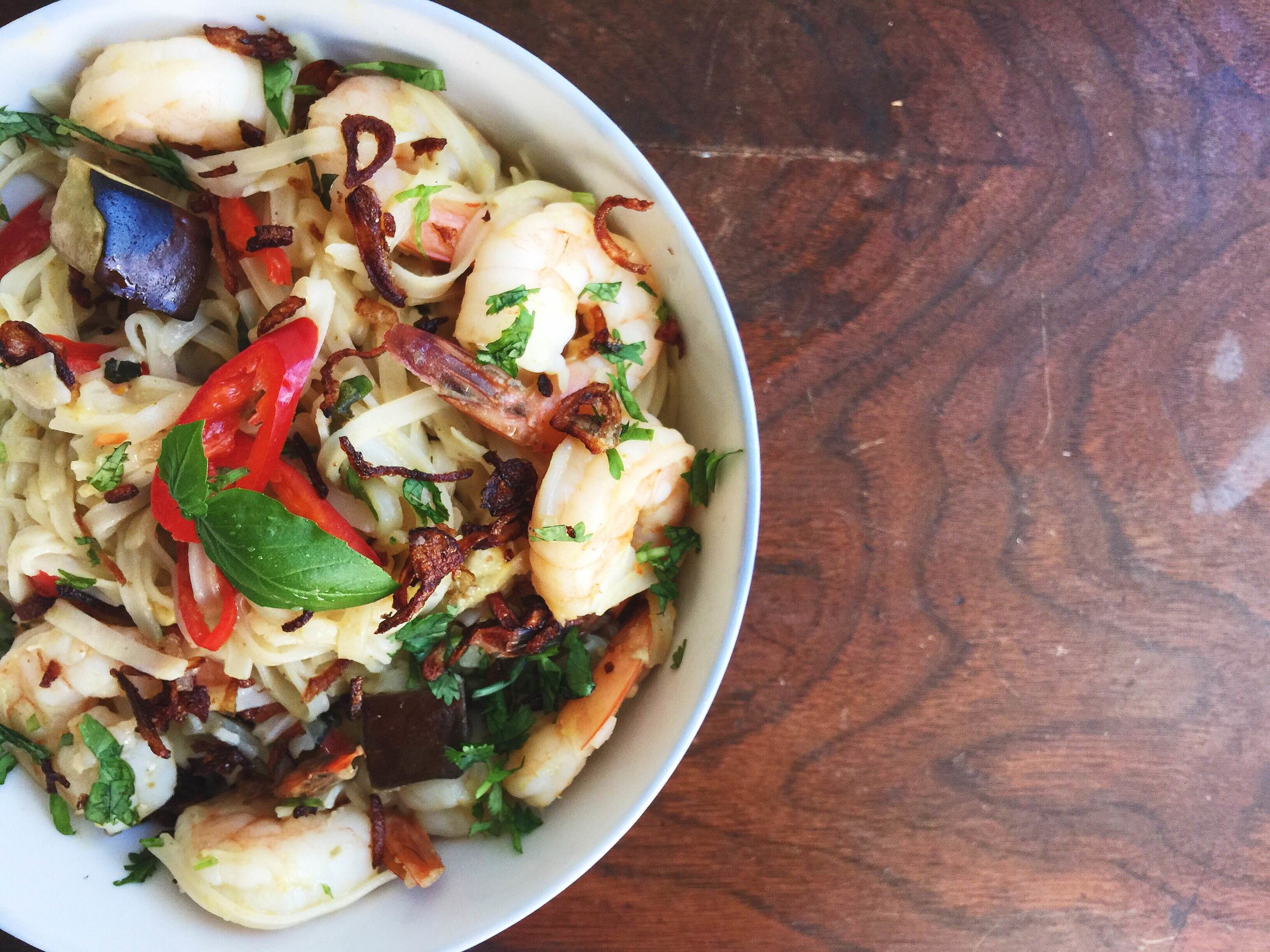 Coconut Green Curry Noodles   Kiano Moju
